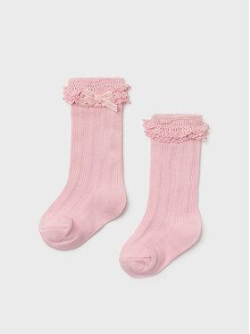 Mayoral Mayoral Κάλτσες Ψηλές Παιδικές 10097 Ροζ