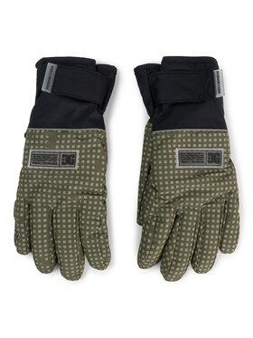 DC DC Lyžařské rukavice EDYHN03045 Zelená