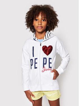 Pepe Jeans Pepe Jeans Džemperis Carla PG581188 Balta Regular Fit