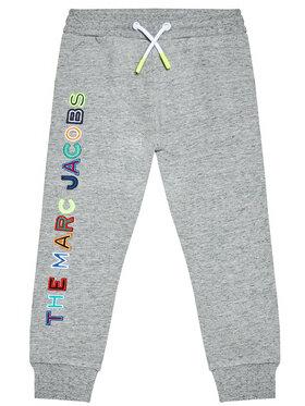 Little Marc Jacobs Little Marc Jacobs Pantaloni da tuta W24230 S Grigio Regular Fit