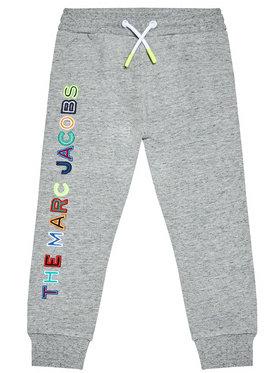 Little Marc Jacobs Little Marc Jacobs Spodnie dresowe W24230 S Szary Regular Fit