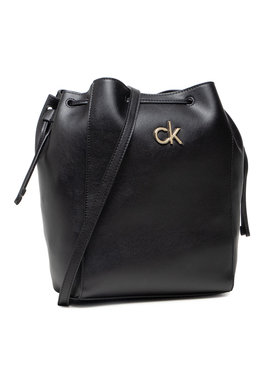 Calvin Klein Calvin Klein Τσάντα Drawstring Bucket Bag K60K608176 Μαύρο
