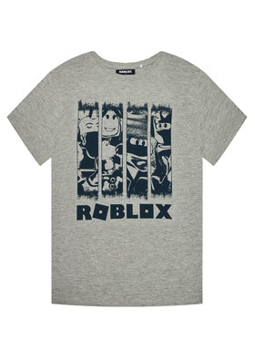 NAME IT NAME IT T-shirt Roblox Marcos 13195551 Siva Regular Fit