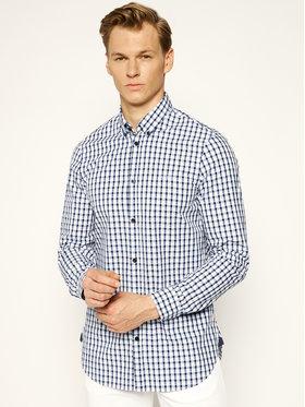 Guess Guess Marškiniai M93H21 WBRB0 Tamsiai mėlyna Slim Fit