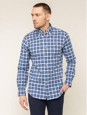 Polo Ralph Lauren Košeľa Classics 710781974006 Tmavomodrá Slim Fit