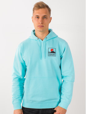 Edwin Edwin Sweatshirt Sunset On Mt Fuji I025851 TG0971P AGB67 Bleu Regular Fit