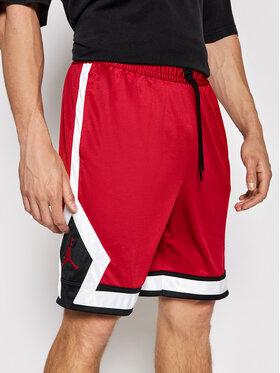 Nike Nike Αθλητικό σορτς Jordan Jumpman Diamond CV6022 Κόκκινο Standard Fit