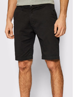 Pepe Jeans Pepe Jeans Stoffshorts Mc Queen PM800227C75 Schwarz Regular Fit