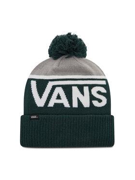 Vans Vans Bonnet Stripe Pom VN0A4SFOPRM1 Vert