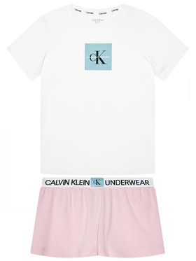 Calvin Klein Underwear Calvin Klein Underwear Pijama Knit Pj G80G800388 Alb