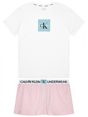 Calvin Klein Underwear Calvin Klein Underwear Πιτζάμα Knit Pj G80G800388 Λευκό