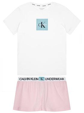 Calvin Klein Underwear Calvin Klein Underwear Pyjama Knit Pj G80G800388 Blanc