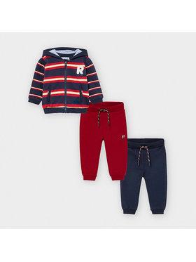 Mayoral Mayoral Set 2 perechi pantaloni trening și bluză 2887 Colorat Regular Fit