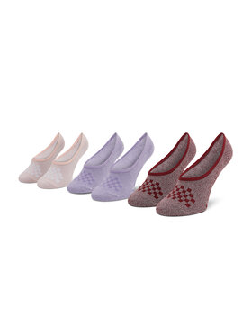 Vans Vans Set od 3 para ženskih niskih čarapa Cmarlc VN0A49Z9ZB21 r.36,5-41 Primary M Ružičasta