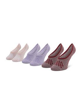 Vans Vans Súprava 3 párov kotníkových ponožiek dámských Cmarlc VN0A49Z9ZB21 r.36,5-41 Primary M Ružová