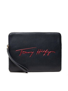 Tommy Hilfiger Tommy Hilfiger Housse pour tablette Iconic Tommy Tablet Case Sign AW0AW10533 Bleu marine