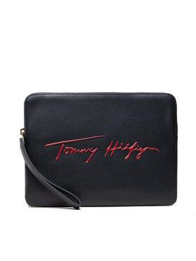 Tommy Hilfiger Tommy Hilfiger Pouzdro na tablet Iconic Tommy Tablet Case Sign AW0AW10533 Tmavomodrá