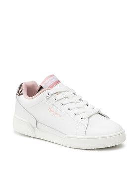Pepe Jeans Pepe Jeans Sneakersy Lambert Zebra PGS30513 Biela