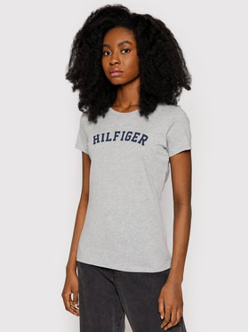 Tommy Hilfiger Tommy Hilfiger T-shirt UW0UW00091 Gris Slim Fit