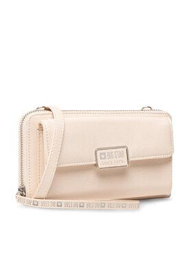 BIG STAR BIG STAR Великий жіночий гаманець II674001 Бежевий