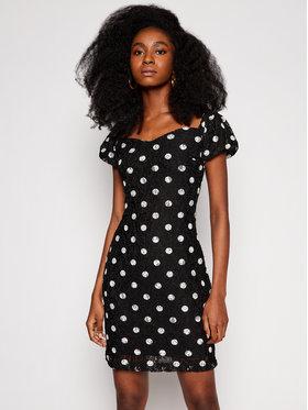 Guess Guess Koktejlové šaty W1GK0R KAM20 Černá Slim Fit