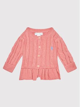 Polo Ralph Lauren Polo Ralph Lauren Kardigan 310737911027 Różowy Regular Fit