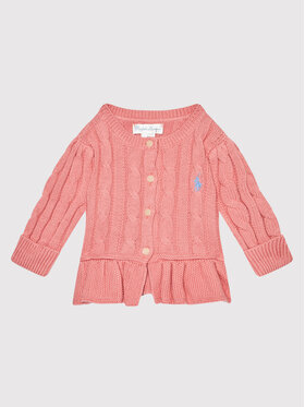 Polo Ralph Lauren Polo Ralph Lauren Kardigán 310737911027 Rózsaszín Regular Fit