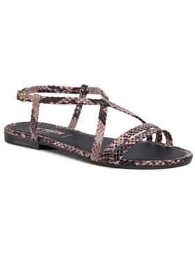 My Twin My Twin Sandały Sandalo 201MCT012 Brązowy