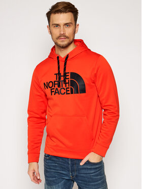 The North Face The North Face Mikina Surgent NF0A2XL8R151 Červená Regular Fit