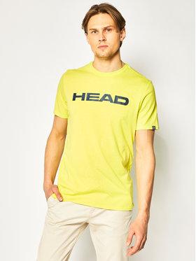 Head Head Marškinėliai Club Ivan 811400 Žalia Regular Fit