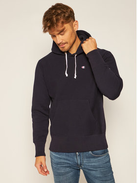 Champion Champion Sweatshirt C Logo 215214 Schwarz Custom Fit