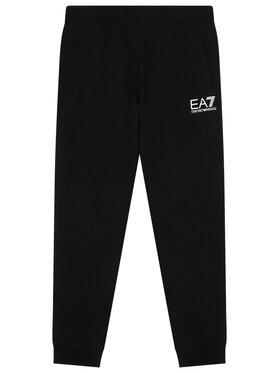 EA7 Emporio Armani EA7 Emporio Armani Spodnie dresowe 6KBP51 BJ05Z 1200 Czarny Regular Fit