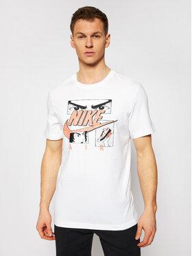 Nike Nike T-shirt Sportswear DB6151 Blanc Standard Fit