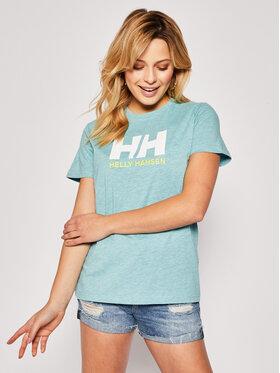 Helly Hansen Helly Hansen T-Shirt Logo 34112 Niebieski Regular Fit