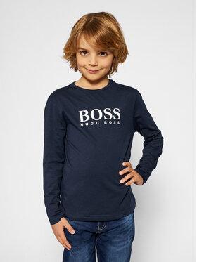 Boss Boss Palaidinė J25P21 S Tamsiai mėlyna Regular Fit