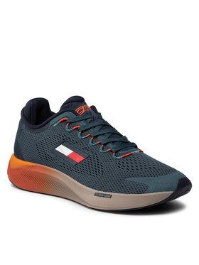 Tommy Hilfiger Tommy Hilfiger Sneakersy Ts Elite Racer 2 FD0FD00033 Zielony