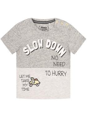 Primigi Primigi T-Shirt Fast Rider 45221071 Szary Regular Fit