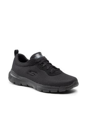 Skechers Skechers Pantofi First Insight 13070/BBK Negru