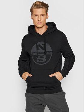North Sails North Sails Sweatshirt Fleece 691623 Schwarz Regular Fit