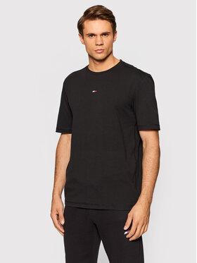 Tommy Hilfiger Tommy Hilfiger T-Shirt Motion Flag MW0MW19777 Μαύρο Regular Fit