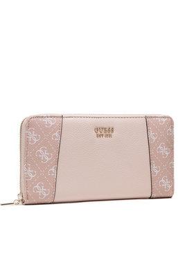 Guess Guess Velká dámská peněženka Naya (LG) Slg SWLG78 81630 Růžová