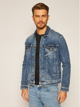 Tommy Jeans Tommy Jeans Geacă de blugi Trucker DM0DM08282 Bleumarin Regular Fit