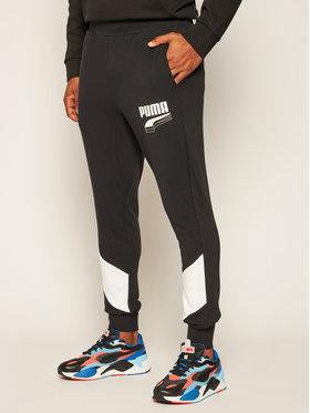 Puma Puma Παντελόνι φόρμας Rebel Block 583526 Μαύρο Regular Fit