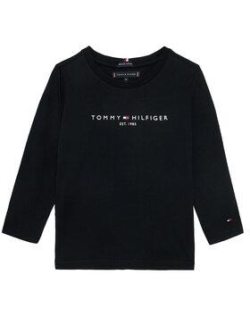 TOMMY HILFIGER TOMMY HILFIGER Bluzka Essential Tee KB0KB06105 M Czarny Regular Fit