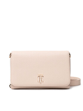Tommy Hilfiger Tommy Hilfiger Handtasche Th Soft Small Crossover AW0AW10124 Beige