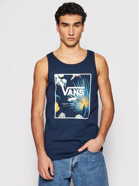 Vans Vans Tank top Print Box VN0A31EX Σκούρο μπλε Classic Fit