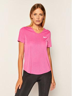 Nike Nike Koszulka techniczna Breathe CJ2568 Różowy Standard Fit