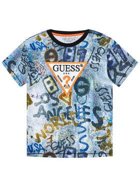 Guess Guess T-Shirt L1RI07 K8HM0 Kolorowy Regular Fit