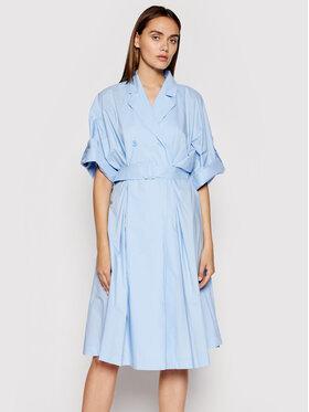 Imperial Imperial Sukienka koszulowa ABVNBGV Niebieski Regular Fit