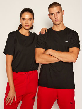 Diamante Wear Diamante Wear T-Shirt Unisex Basic 5406 Czarny Regular Fit